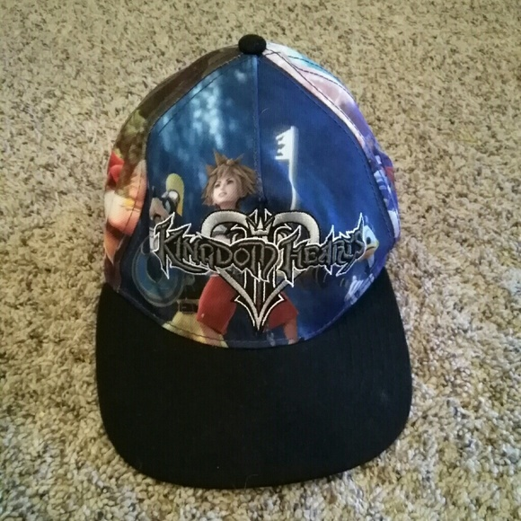 Disney Other - 2 🎩 for  15 NWOT Kingdom Hearts Snapback 79336fc6e43e